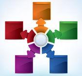 Presentation Template — Stock Vector