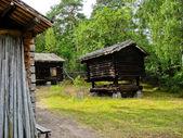 Swedish cabin — Stock Photo