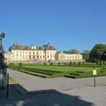 Drottningholm's castle (Sweden, Stockholm) — Stock Photo #8869041