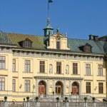 Drottningholm's castle (Sweden, Stockholm) — Stock Photo #8869110