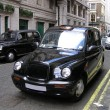 Classic London Cab — Stock Photo