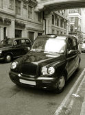Classic Old London Cab — Stock Photo