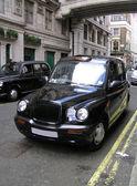 Classic London Cab — Stock Photo