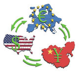 World Greatest Economies — Stock Photo