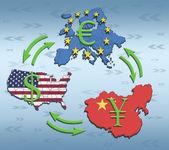 World Greates Economies — Stock Photo