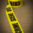 Crime scene — Stock Photo
