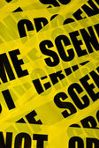 Crime scene background — Stock Photo