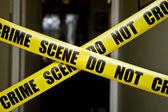 Escena del crimen — Foto de Stock