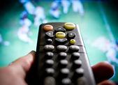Watching football — Stock Photo
