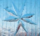 Ice star — Stock Photo