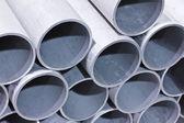 Kovové trubky — Stock fotografie