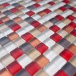 Stock Photo: New tile abstract
