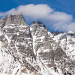 Stock Photo: Mountain peaks