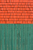 Fence and shingles — Stock Photo