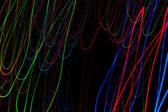 抽象灯 — 图库照片