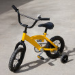 Stock Photo: Bike with training wheels