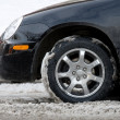 Stock Photo: Winter driving conditions