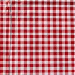 Red tablecloth — Stockfoto