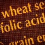 acido folico — Foto Stock