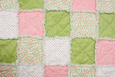 Baby quilt — Stock Photo