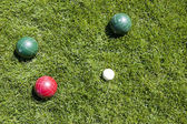Bocce ball — Stock Photo