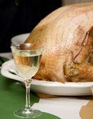 七面鳥の夕食 — ストック写真