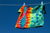 Shirt on clothesline — Stock Photo