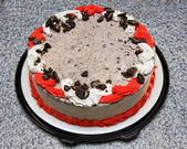Ice cream cake — Stock Photo