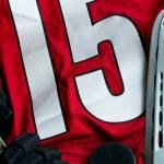 Ice hockey background — Stock Photo