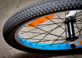 Bicycle wheel — Stock Photo
