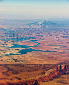 Grand Canyon aerial — Stock Photo