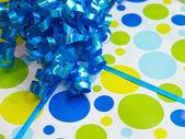 Birthday present background — Stock Photo