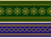 Баннер хны — Cтоковый вектор