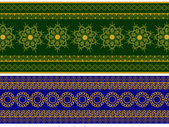 Henna Banner — Stock Vector