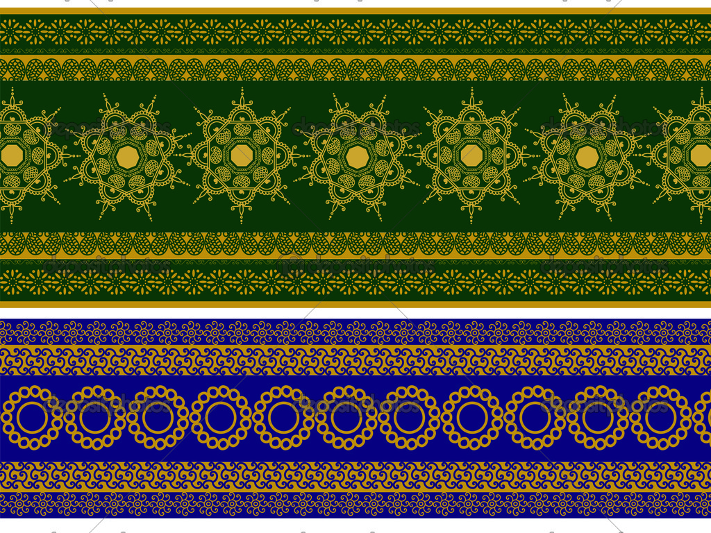 henna inspired banners borders - photo #47