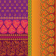Sari Border Design — Vecteur #9234360