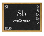 Antimony. — Stock Photo