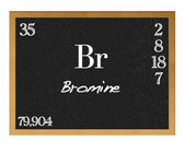 Bromine. — Stock Photo