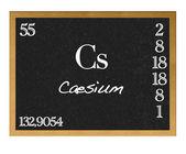 Caesium. — ストック写真