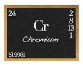 Chromium. — Stock Photo