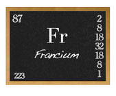 Francium. — Stock Photo