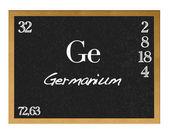 Germanium. — ストック写真