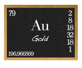 Gold,Au. — Stock Photo