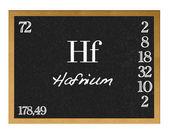 Hafnium. — Fotografia Stock