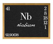 Niobium. — Stock Photo