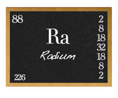 Radium. — Stock Photo