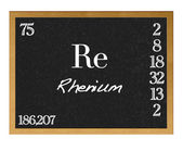Rhenium. — Stock Photo