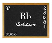 Rubidium. — Stockfoto