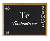 Technetium. — Stock Photo