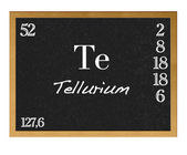 Tellurium. — Stock Photo